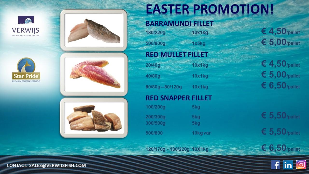 Premium Frozen Fish Fillets
